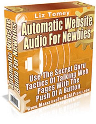 Product picture Automated Website Audio